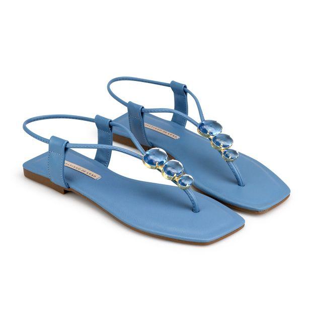 Rasteira-Napa-Pele-Azul-Jeans-Bico-Quadrado