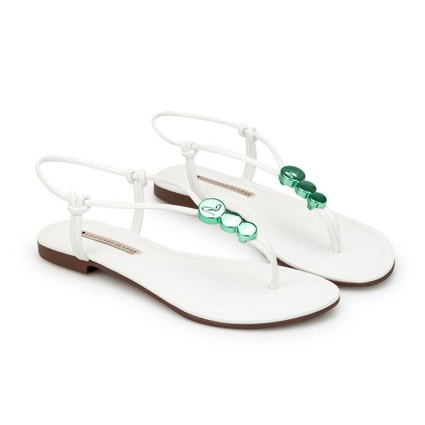 Rasteira-Napa-Tathi-Branco-Enfeite-Green