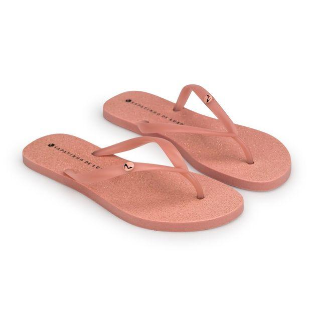 Rasteira-Candy-Pink-Glitter-Tira-Injetada