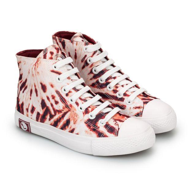 Tenis-Sneaker-Tie-Dye-Vermelho-e-Branco-Vulcanizado