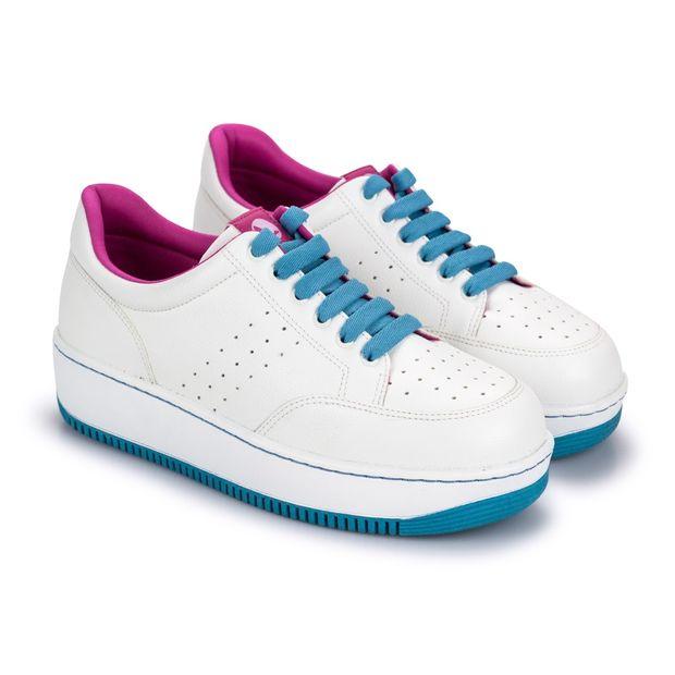 Tenis-Mix-Napa-Naturale-Branco-Pink-Tangerina-Azul-Celeste