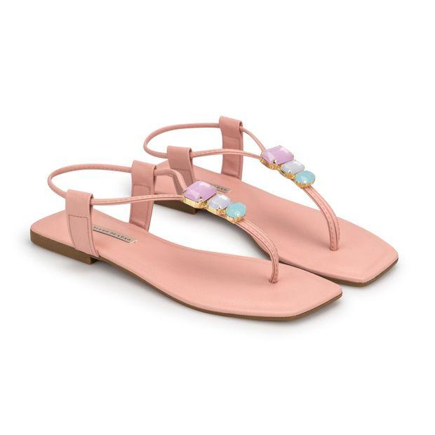 Rasteira-Napa-Pele-Pink-Pedraria-Candy