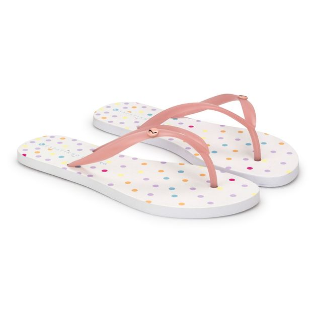 Rasteira-Translucida-Candy-Pink-Estampa-Poa