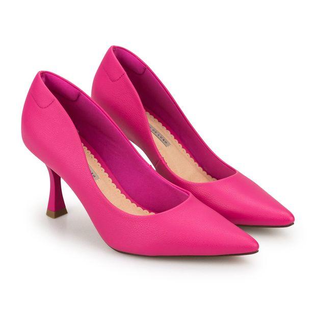 Scarpin-Napa-Pele-Pink-Salto-Taca