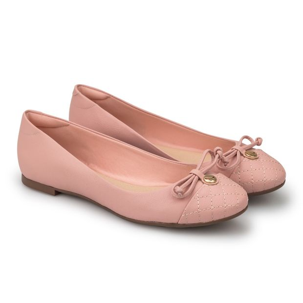 Sapatilha-Napa-Pele-Candy-Pink-Laco-Bico-Redondo