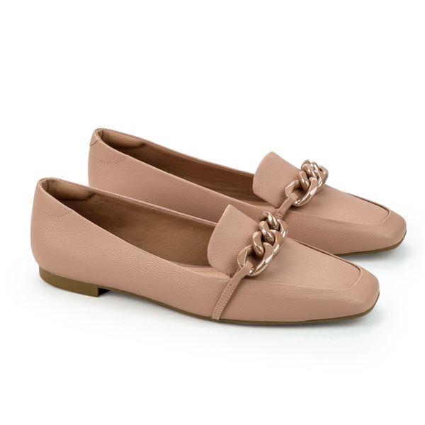 Loafer-Napa-Naturale-Nude-San-Enfeite-Corrente