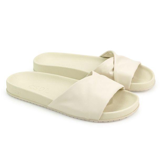 Rasteira-Napa-Strech-Nude-Vanilla-Conforto