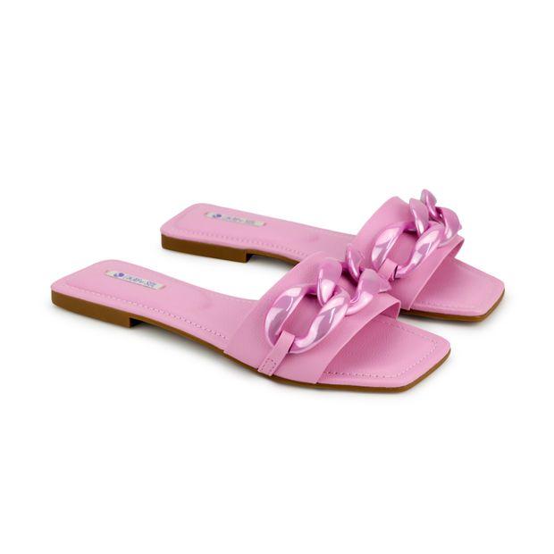 Rasteira-GKay-Napa-Naturale-Pop-Pink-Enfeite-Corrente